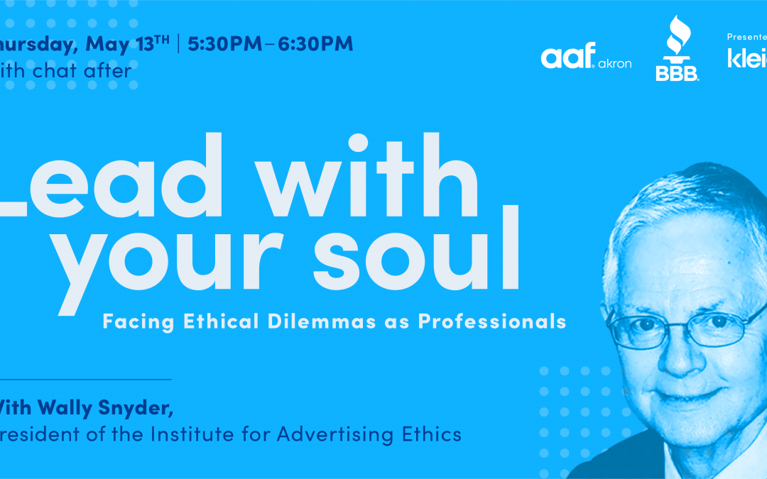 lead with your soul – facing ethical dilemmas as professionals